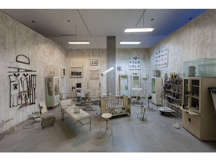 Robert Kuśmirowski, bez tytułu, 2009, instalacja, Kolekcja MOCAK–u, fot. R. Sosin