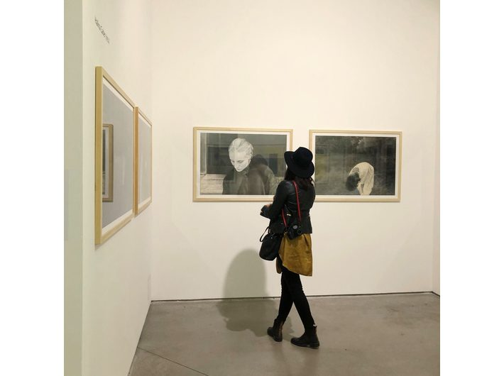 Wystawa //Artyści z Krakowa. Generacja 1950 – 1969//, widoczne prace Haliny Cader, fot. Dział Promocji, MOCAK