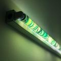 Karolina Kowalska, //Neon Light Shades//, 2005, object, 120 cm, MOCAK Collection, photo: Promotion Department, MOCAK2