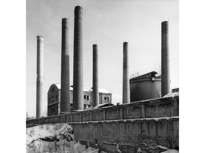 Wojciech Wilczyk, //Grodziec Cement Works, Grodziec//, from the series //Post-Industrial//, 2005, photograph, 60 × 60 cm, MOCAK Collection