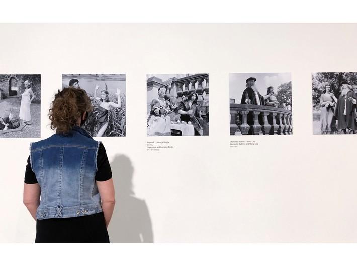 Widok z wystawy Mariana Eilego //Artysta i redaktor//, fot. Dział Promocji, MOCAK
