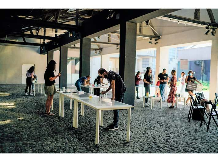 Warsztaty //T-O-G-E-T-H-E-R: building unity through Art//, 2020, fot. P. Pietruszka