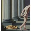 Tadeusz Boruta, //Św. Franciszek oddaje się pod opiekę Kościoła II//, 2003, olej / płótno, 200 × 190 cm, courtesy T. Boruta1