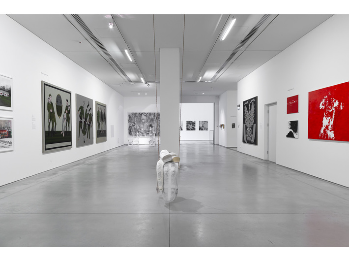 Exhibition view: //Artists from Krakow: The Generation 1950–1969//, photo: R. Sosin