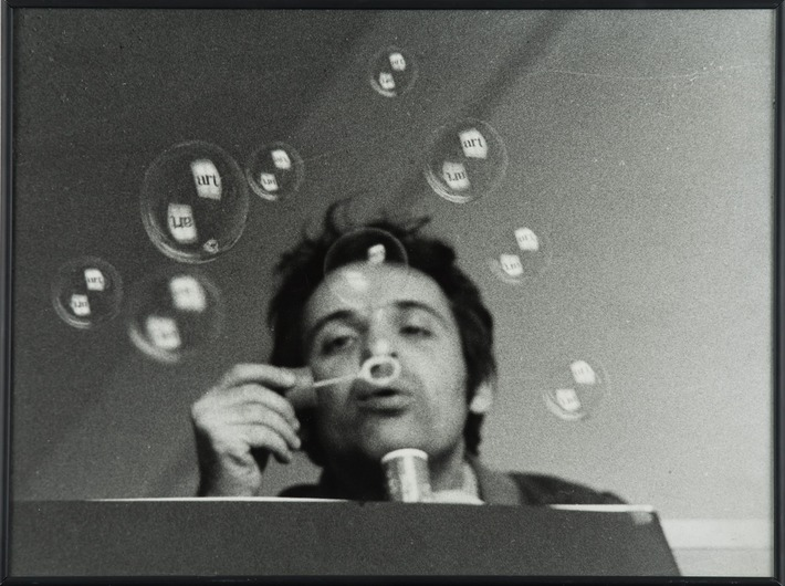 Géza Perneczky, from the series //Concepts like Commentary//, 1972, photograph, 30,5 × 40,5 cm, MOCAK Collection, © Géza Perneczky