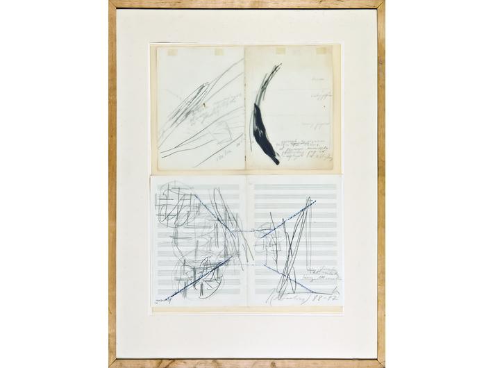 Joanna Przybyła, bez tytułu, 1988–1997, kredka, ołówek, tusz / papier, 85 × 65 cm, Kolekcja MOCAK-u