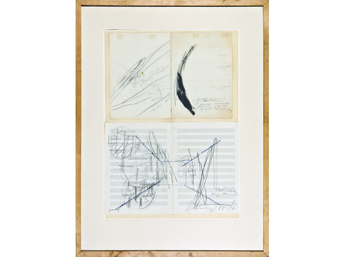 Joanna Przybyła, untitled, 1988–1997, crayon, pencil, ink / paper, 85 × 65 cm, MOCAK Collection