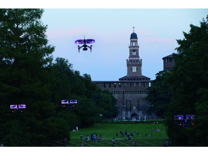 Pokaz //Loro (Oni)//, Parco Sempione, Mediolan, 6–8 czerwca 2019, fot. K. Wodiczko