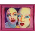 EVA & ADELE, z serii //Polaroid Diary – Watercolor//, 1992-1993, akwarela / papier czerpany, Kolekcja MOCAK-u1