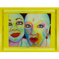 EVA & ADELE, from the series //Polaroid Diary – Watercolor//, 1992-1993, watercolor / paper, MOCAK Collection950
