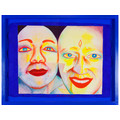 EVA & ADELE, from the series //Polaroid Diary – Watercolor//, 1992-1993, watercolor / paper, MOCAK Collection951