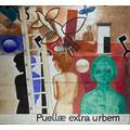 Zbigniew Makowski, //Puellae extra urbem//, 1989, tusz, gwasz / papier, 144,7 × 154,9 cm, Kolekcja MOCAK-u14