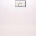 Rafał Jakubowicz, ti tabu dibu daj, 2007, instalacja: obraz olejny (105 × 180 cm), betonowy odlew piłki (obwód 75 cm, średnica 23,86 cm)49