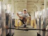 A still frame from Piotr Wysocki and Dominik Jałowiński's film //Run Free//, 20102