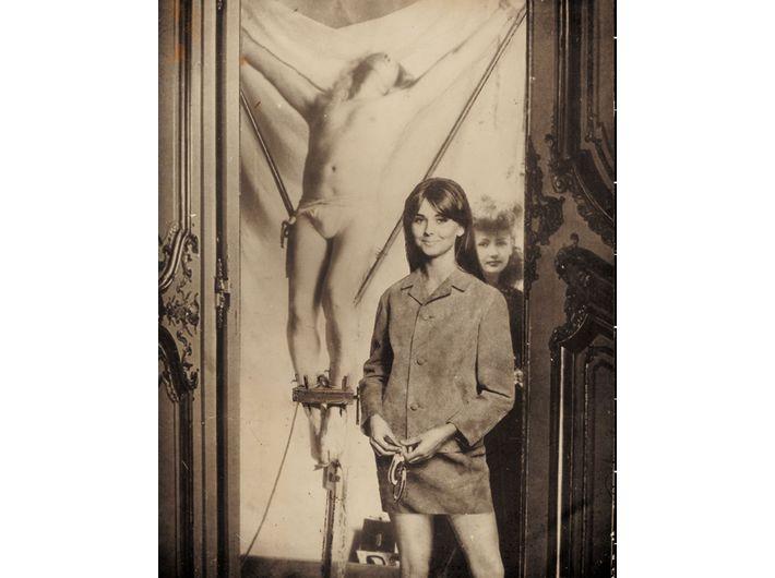 Ghislain Dussart, //Bez tytułu//, lata 60. Technika mieszana, 28 x 22 cm Dzięki uprzejmości Michael Fuchs Galerie GmbH