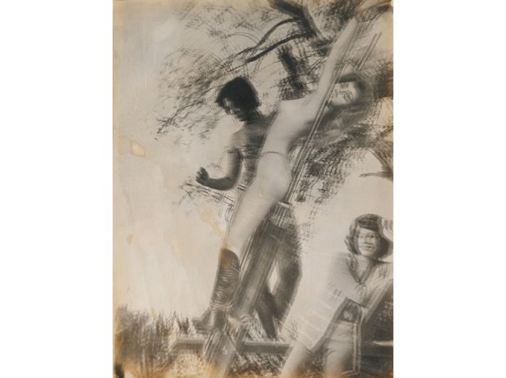Ghislain Dussart, //Bez tytułu//, lata 60. Technika mieszana, 40 x 30 cm Dzięki uprzejmości Michael Fuchs Galerie GmbH