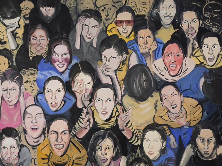 Pola Dwurnik, Mercy!, 2008/2009, oil / canvas