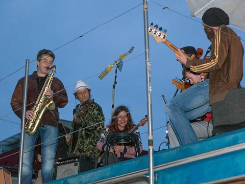 Piotr Lutyński's band concert (fot. Rafał Sosin)