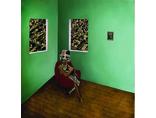 Mateusz Szczypiński, //Bilans traconego czasu//, 2012, kolaż, olej / płótno, zdjęcie dzięki uprzejmości Galerii lokal 302