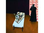 Mateusz Szczypiński, bez tytułu, 2012, kolaż, olej / płótno, Kolekcja Anette i Peter Noble1