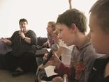 Kronika idei dla dzieci, czyli o biedzie i bogactwie, dyskusja z Henryką Krzywonos-Strycharską, fot. Małgorzata Węglorz4