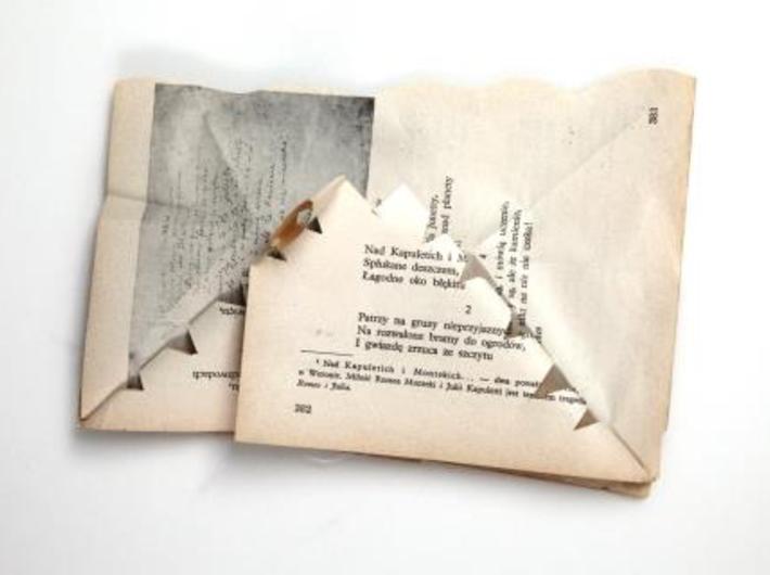 Książki do dotykania, fot. Katarzyna Maniak