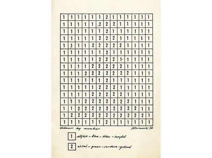 Ryszard Winiarski, post card, 1976, fragment, MOCAK Archive - 4