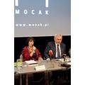 Konferencja prasowa w MOCAK-u7