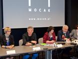 Konferencja prasowa w MOCAK-u3