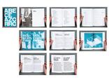 ABECE AZORRO, monograficzny katalog Supergrupy Azorro, format 148 x 206 mm, 2011, klient: Centrum Sztuki Współczesnej Znaki Czasu w Toruniu, fot. Full Metal Jacket1
